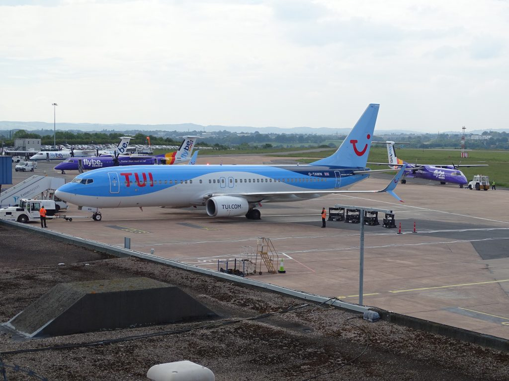 Fewer delays at Exeter Airport