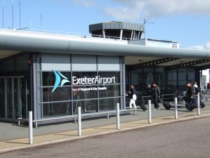 Exeter Airport 2017 Terminal Front