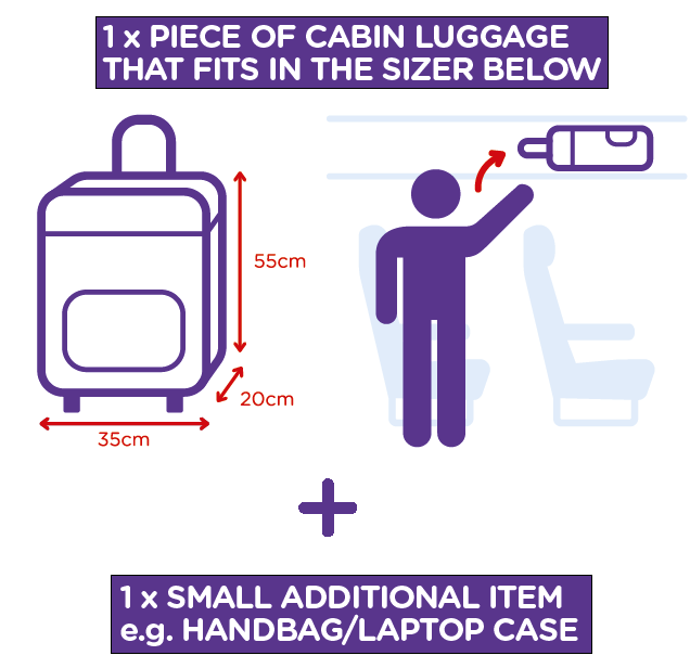 cheapest price entire collection 50% off Hand Baggage - Check the Flybe allowance - Exeter Airport
