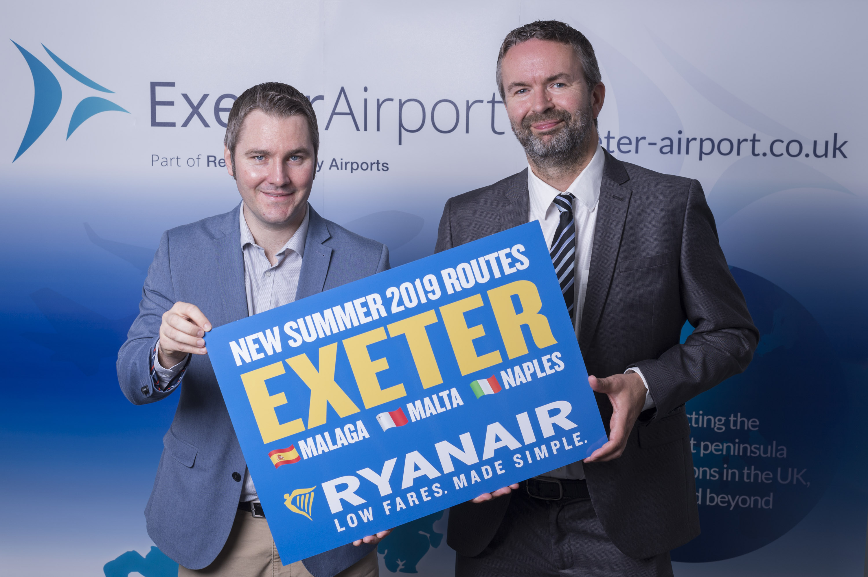 Ryanair S Low Fares Come To Exeter Exeter Airport