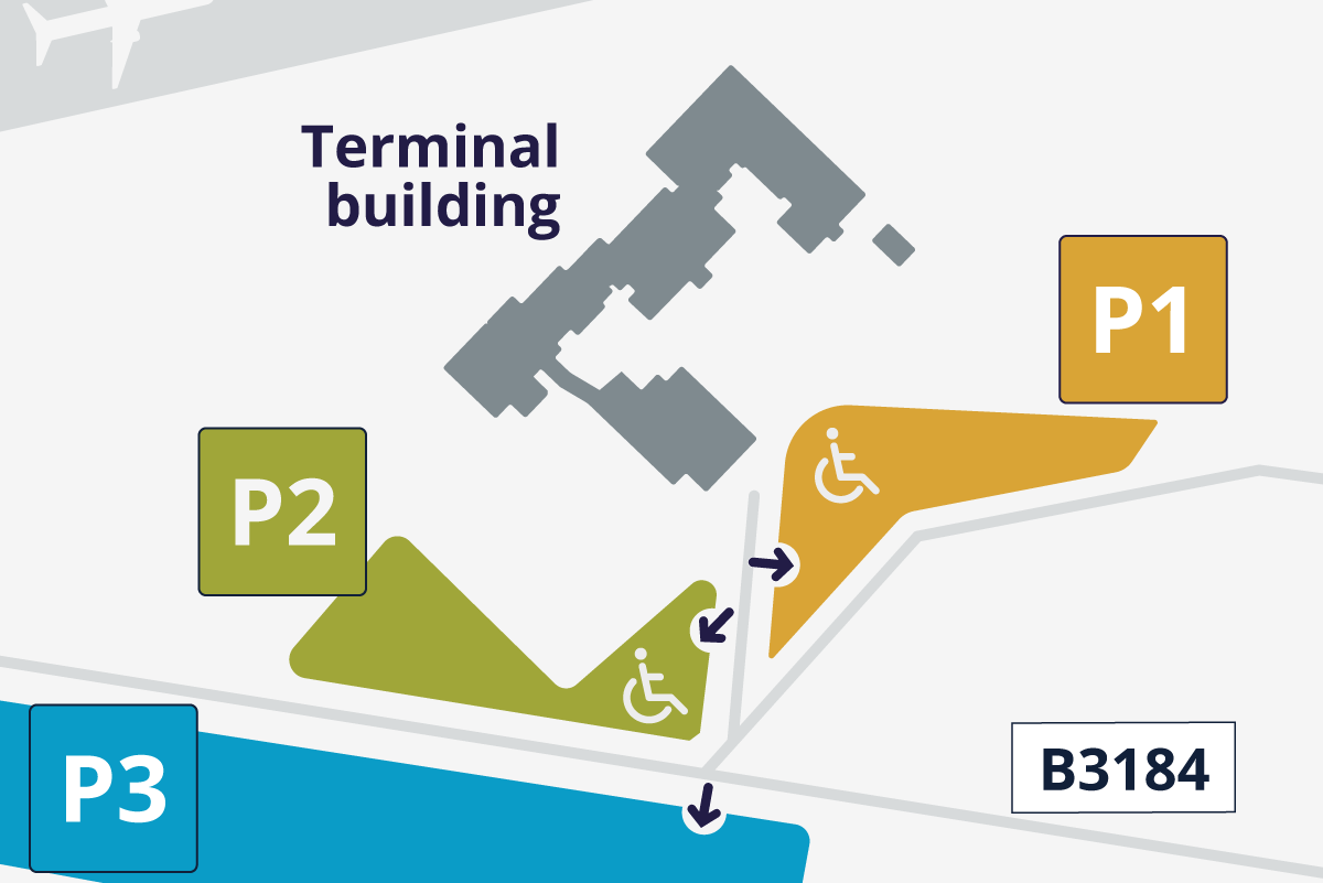 Special Assistance Parking Map